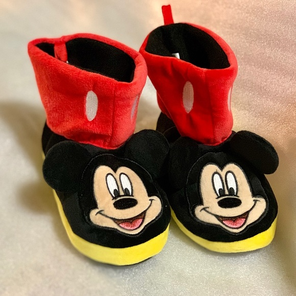 Shoes | Mickey Mouse Boys Slipper Kids